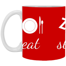 Load image into Gallery viewer, 11 oz. Eat, Sleep, Dance! Mug