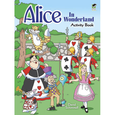 Alice in Wonderland Activity Book - Ballet Gift Shop