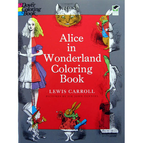 Alice in Wonderland Coloring Book - Ballet Gift Shop