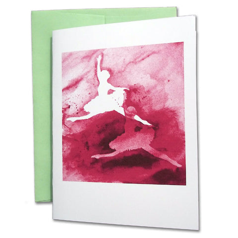 Grand Allegro Ballet Note Cards (Pink)