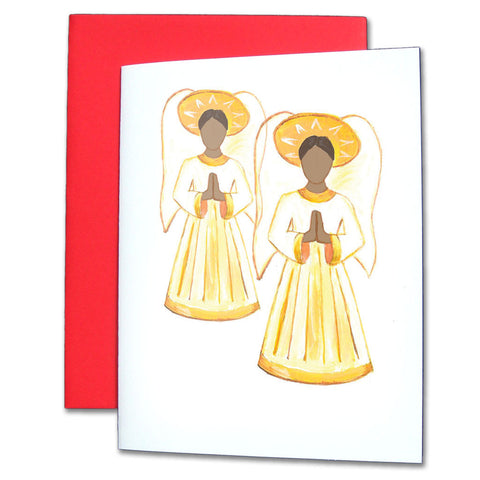 Angels (African-American) Note Cards - Ballet Gift Shop