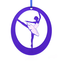 Load image into Gallery viewer, Arabesque Laser-Etched Ornament - Ballet Gift Shop