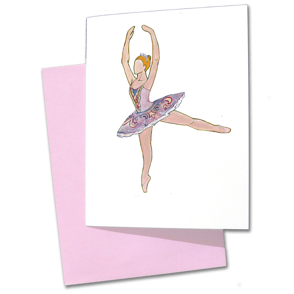 Aurora (The Sleeping Beauty) Note Cards - Ballet Gift Shop