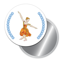 Load image into Gallery viewer, Autumn Fairy Button/Magnet/Mirror