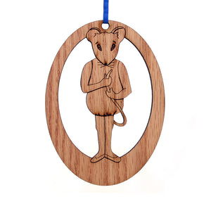Baby Mouse Laser-Etched Ornament - Ballet Gift Shop