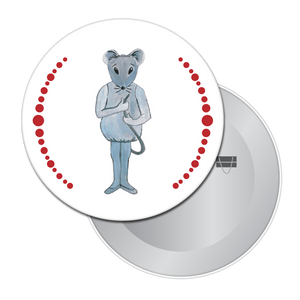 Baby Mouse Button / Magnet