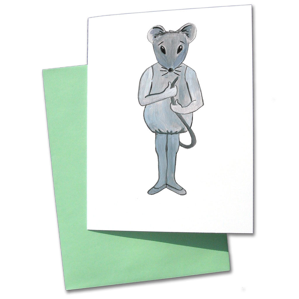 Baby Mouse Note Cards - Ballet Gift Shop