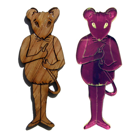 Baby Mouse Lapel Pin