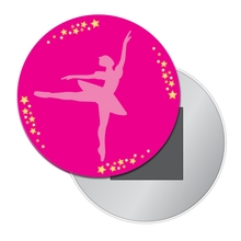 Load image into Gallery viewer, Ballerina Silhouette Button/Magnet/Mirror