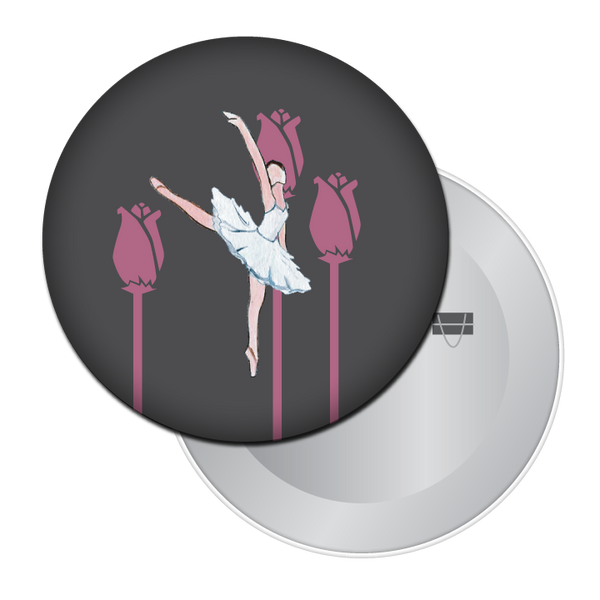 Ballerina Button / Magnet