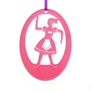 Ballerina Doll Laser-Etched Ornament - Ballet Gift Shop