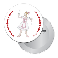 Load image into Gallery viewer, Ballerina Doll Button/Magnet/Mirror