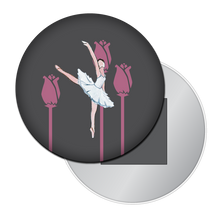 Load image into Gallery viewer, Ballerina Button/Magnet/Mirror