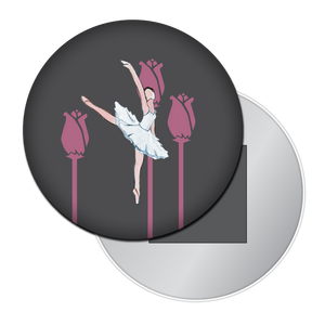 Ballerina Button/Magnet/Mirror