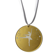 Load image into Gallery viewer, Ballerina Medal - Ballet Gift Shop