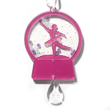 Load image into Gallery viewer, Ballerina Dancer Snow Globe Ornament