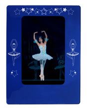 "Load image into Gallery viewer, Ballerina 4"" x 6"" Magnetic Photo Frame (Vertical/Portrait) - Ballet Gift Shop"