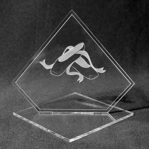 Ballet Shoes Acrylic Award
