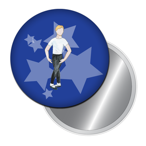 Ballet Boy Button/Magnet/Mirror