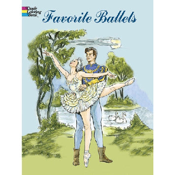 Favorite Ballets Coloring Book - Ballet Gift Shop