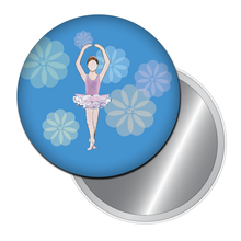 Load image into Gallery viewer, Ballet Girl Button/Magnet/Mirror