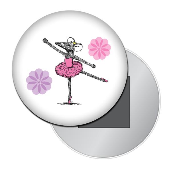 Ballet Mouse Button / Magnet