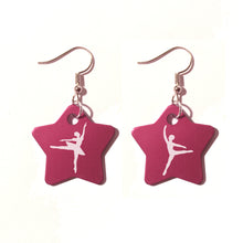 Load image into Gallery viewer, Pas de Deux Metal Earrings