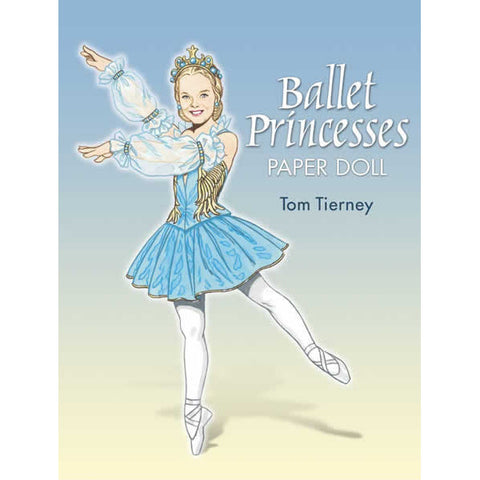 Ballet Princesses Paper Dolls