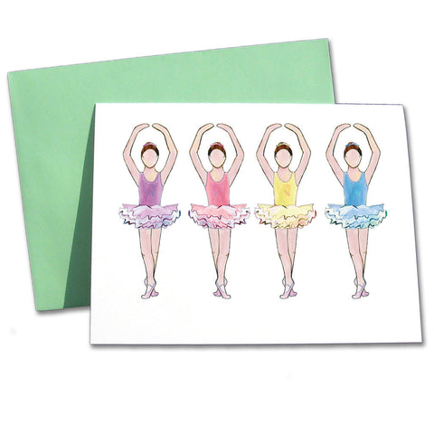 Ballet Recital Note Cards