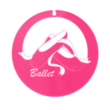 Load image into Gallery viewer, Ballet Shoes Laser-Etched Ornament - Ballet Gift Shop