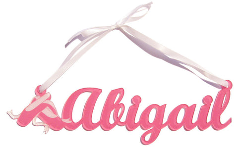 Ballet Shoes Name Sign