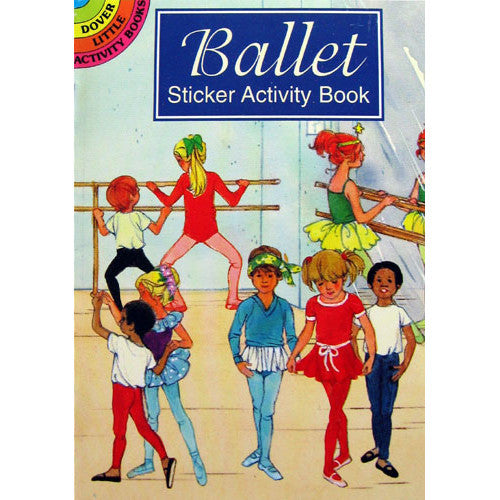 Ballet Sticker Activity Book - Ballet Gift Shop