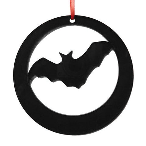Dracula Bat Laser-Etched Ornament - Ballet Gift Shop
