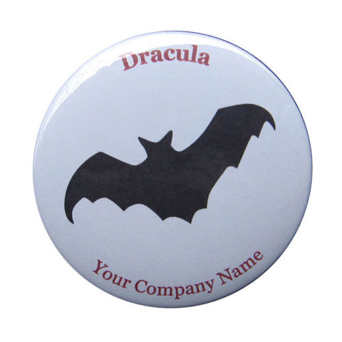 Dracula Bat Button / Magnet