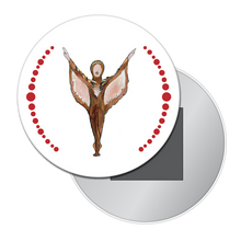 Load image into Gallery viewer, Bird Dancer Button/Magnet/Mirror