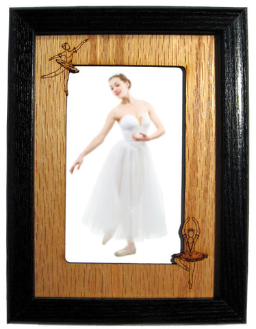 Ballerinas Photo Frame Mat (Vertical/Portrait)