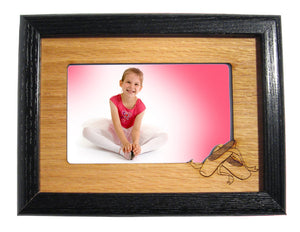 Ballet Shoes Photo Frame Mat (Horizontal/Landscape) - Ballet Gift Shop