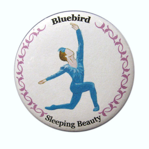 Bluebird Button / Magnet