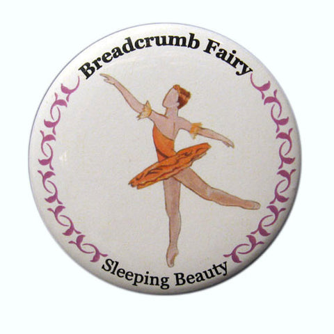 Breadcrumb Fairy (Fairy of Generosity) Button / Magnet
