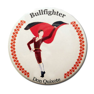Bullfighter Button / Magnet - Ballet Gift Shop