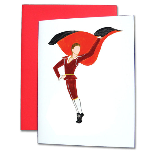 Bullfighter Note Cards - Ballet Gift Shop