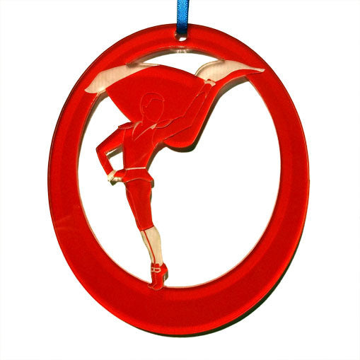 Bullfighter Laser-Etched Ornament - Ballet Gift Shop