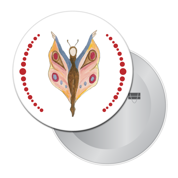 Butterfly Dancer (from The Nutcracker) Button / Magnet