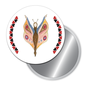 Butterfly Dancer (from The Nutcracker) Button/Magnet/Mirror