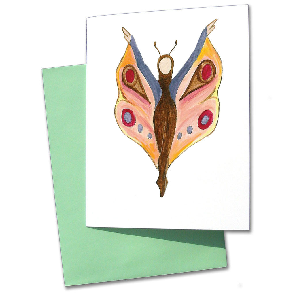 Butterfly Dancer Note Cards - Ballet Gift Shop