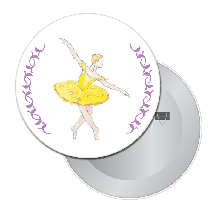 Canary (Fairy of Eloquence) Button/Magnet/Mirror