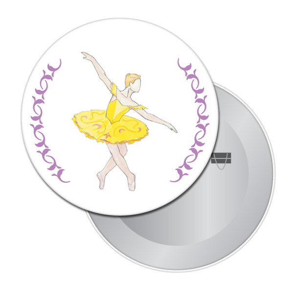 Canary (Fairy of Eloquence) Button / Magnet