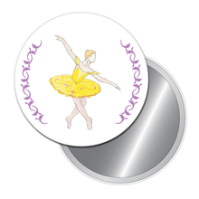 Load image into Gallery viewer, Canary (Fairy of Eloquence) Button/Magnet/Mirror