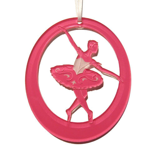 Canary / Fairy of Eloquence Laser-Etched Ornament - Ballet Gift Shop