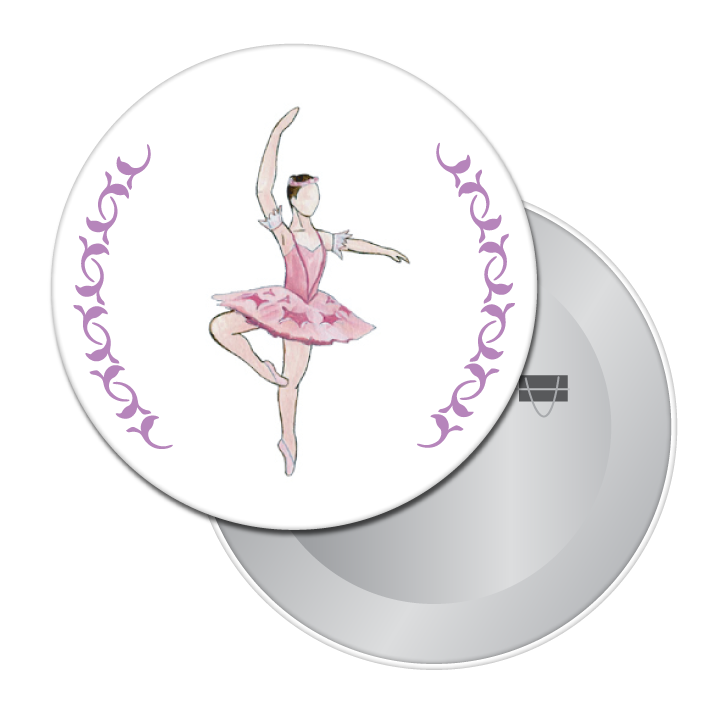 Candide (Fairy of Purity) Button / Magnet